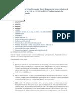 No Discriminacion Directiva CE