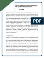 Elaboracion de Marinado Horneado de Trucha y Marinado de Pescado Blanco Por Inmersion en Aceite