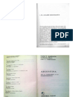Historia Argentina- Chiaramonte