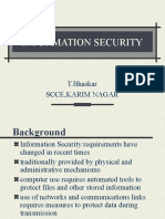 1st unit of information security