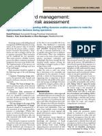 Drilling Hazard Management - Part 2
