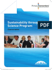 Course Notes - Sustainability Through Science