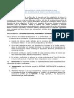 Terminos Generales en Contratacion de Una Obra (TEORIA)