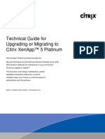 Technical Guide for Upgrading or Migrating to XenApp 5 10-23