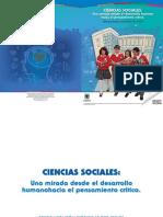 Ciencias Sociales. Una Mirada Desde El Desarrollo Humano. Hacia El Pensamiento Critico
