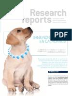 Inmunonutricion en Cachorros