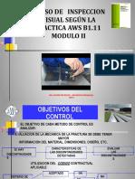 Presentacion Curso de Inspeccion Visual Nivel 2