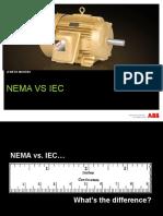 201.00 - NEMA vs IEC