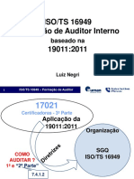 ISOTS 16949-Formacao de Auditor Interno