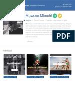 Muwuso Mkochi - Freelance Designer for Hire | Toptal