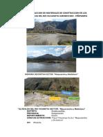 Permiso de Extraccion de Materiales de Construccion en Los Alveolos y Cuencas Del Rio Vilcanota Jurisdiccion