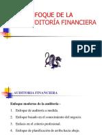 Enfoque de La Auditoría Financiera