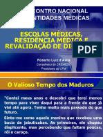 Residência Médica e Revalidação de diplomas - CFM