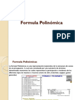 Formula Polinomica - Clase 3