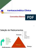 Farmacocinética - conceitos basicos