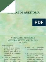 Normas de Auditoría