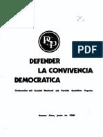 1981 - Defender la convivencia democrática.pdf