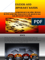 CONTEMPORARY BANDS OF MUSIC.