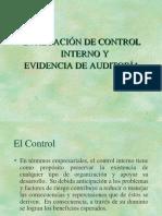 8.  EVALUACIÓN DEL CONTROL INTERNO.ppt