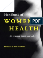 Handbook of Womens Health An Evidence based approach