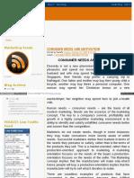 Huzefaonline Marketing Blogspot in 2009 10 Consumer Needs An