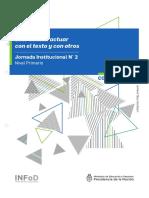3. Jornada Institucional N° 2 - Primaria - Leer es interacturar con el texto y con otros -Carpeta Coordinador.pdf