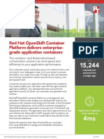 Red Hat OpenShift Container Platform delivers enterprise-grade application containers
