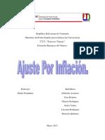Ajuste Por Inflacion Cruz Romero