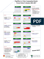 2016-17 parent calendar