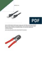Cara Membuat Kabel UTP Straight dan Cross.docx