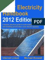 Solar Electricity Handbook - Boxwell, Michael