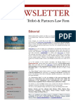 Newsletter T&P N°38 Eng