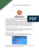 Como Instalar y Desinstalar Programas en Ubuntu Linux