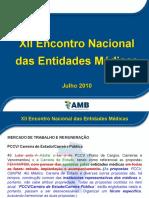 Mercado de trabalho e remuneração - AMB