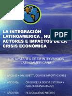 La Integración Latinoamericana Frente a La Crisis Económica. (1)