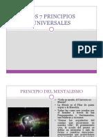 6 Los 7 Principios Universales