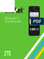 Zte Sonata 2 Guia Del Usuario