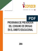 Programas Prevencion Escolar CONACE2004 (1)