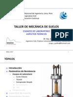 UNI_Taller de Mecanica de Suelos_Ensayos de Laboratorio