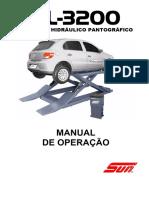 Elevador Hidráulico Pantográfico Manual de Operação - PDF