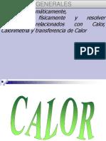 Clase de Calor y Transferencia de Calor Actualizada 19 Julio Del 2011