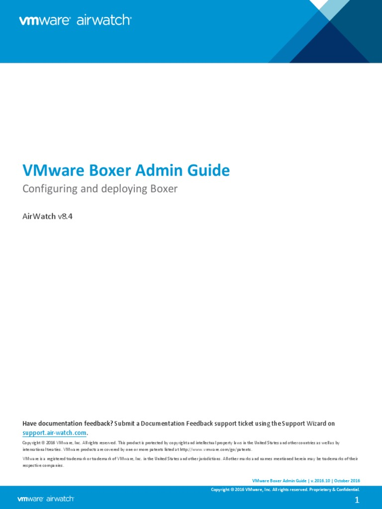 VMware Boxer Admin Guide v8_4   Mobile App   Ios