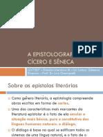 A Epistolografia de Cicero e Sêneca