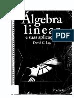 Algebra Linear e suas aplicações. David C. Lay.pdf
