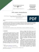 FPA Camera Standardisation