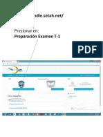 Procedimiento de Ingreso Plataforma TECNAER