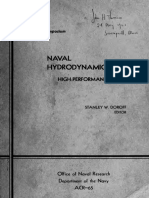 Naval Hydrodynamiques - High Performances Symp - Netherland 1963
