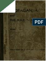 Propaganda and the Nazi War Film - Siegfried Kracauer