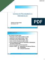 Linhas de transmiss+úo e distribui+º+úo - Introdu+º+úo - aula 0
