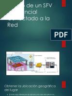 Diseño de Un SFV Residencial Conectado a La Red